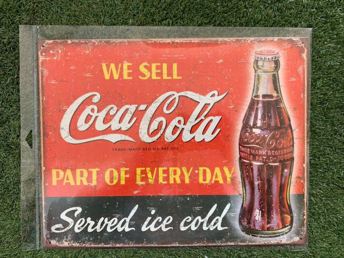 Coca Cola We sell